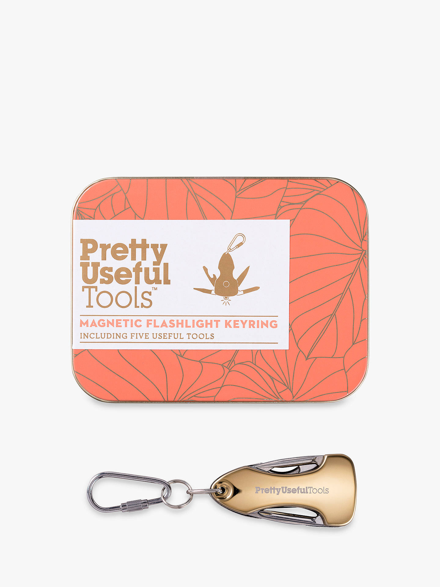 Buy Pretty Useful Tools Magnetic Flashlight Keyring Online at johnlewis.com