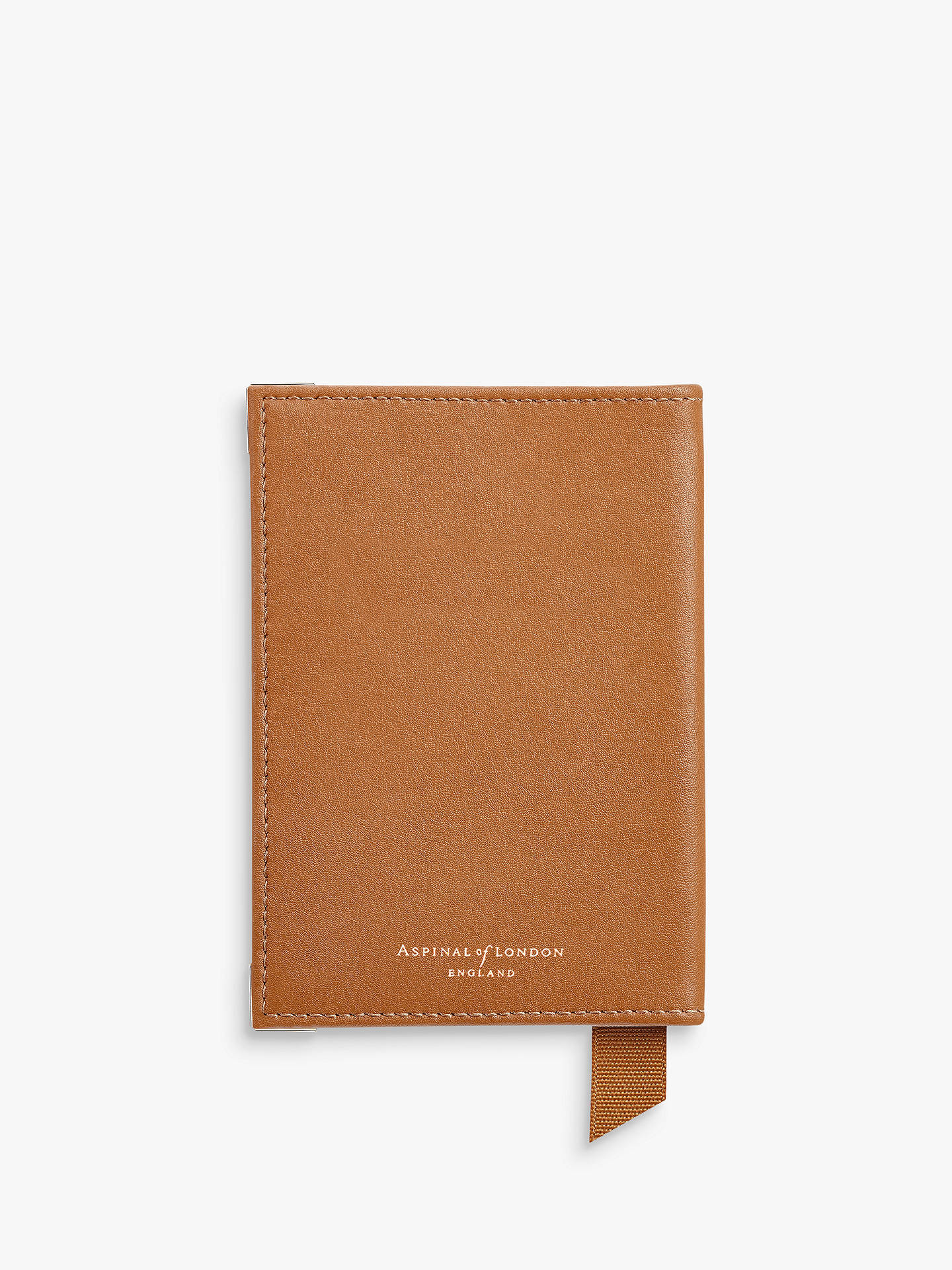 BuyAspinal of London Leather Passport Cover, Tan Online at johnlewis.com