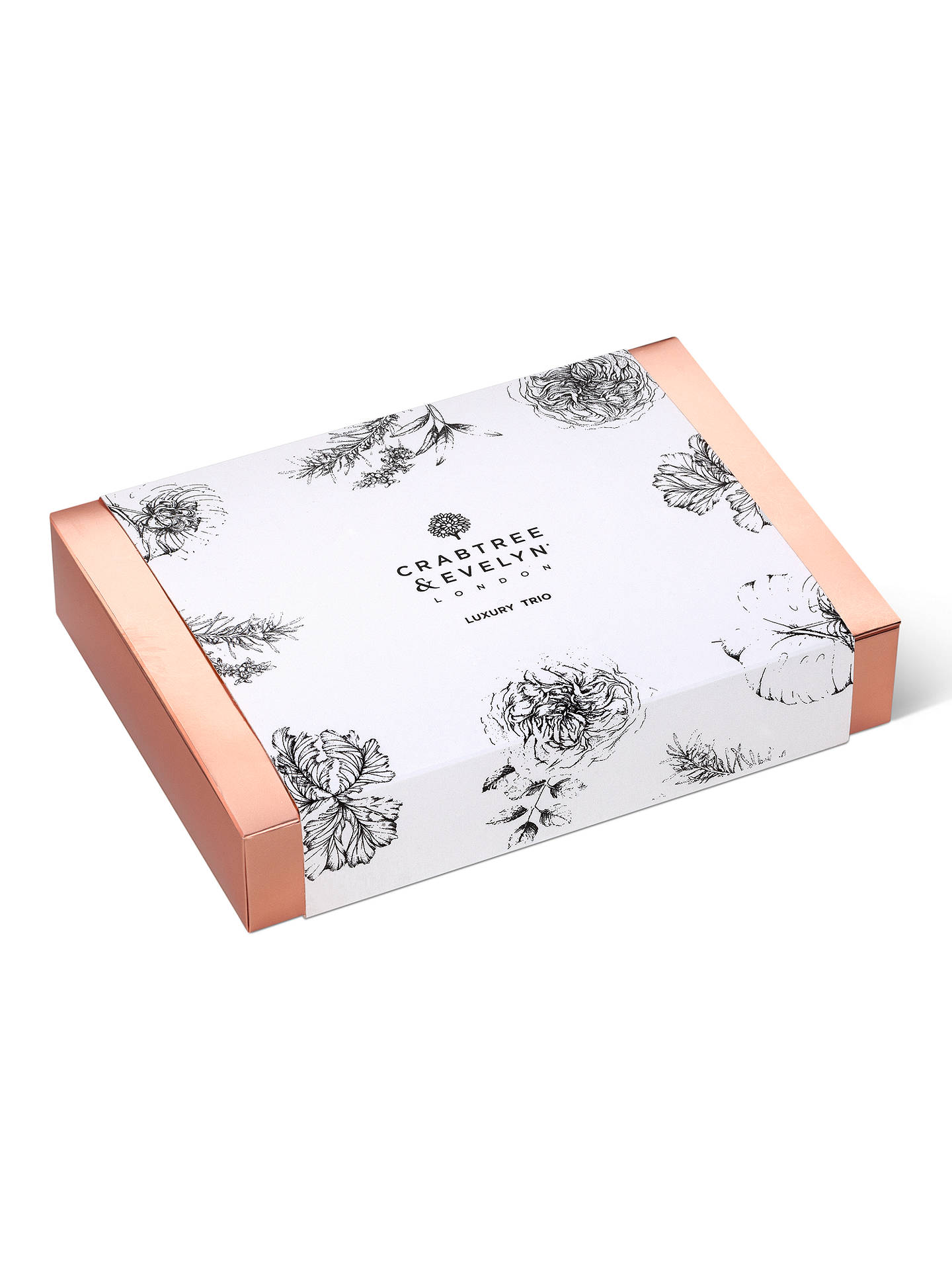70a9230623f7 ... Buy Crabtree & Evelyn Luxury Hand Cream Trio Online at johnlewis.com