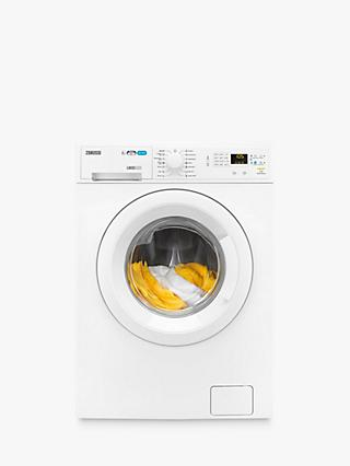 Zanussi ZWD81660NW Freestanding Washer Dryer, 8kg Wash/4kg Dry Load, A Energy Rating, 1600rpm Spin, White