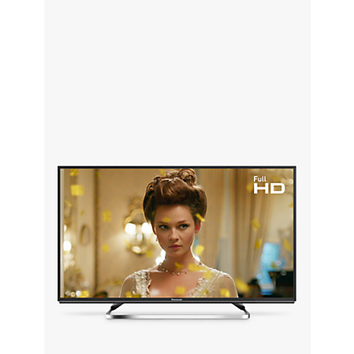 Image of Panasonic TX-40FS503B LED HDR Full HD 1080p Smart TV, 40 with Freeview Play/Freesat HD, Black