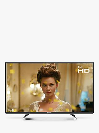 "Panasonic TX-40FS503B LED HDR Full HD 1080p Smart TV, 40"" with Freeview Play/Freesat HD, Black"
