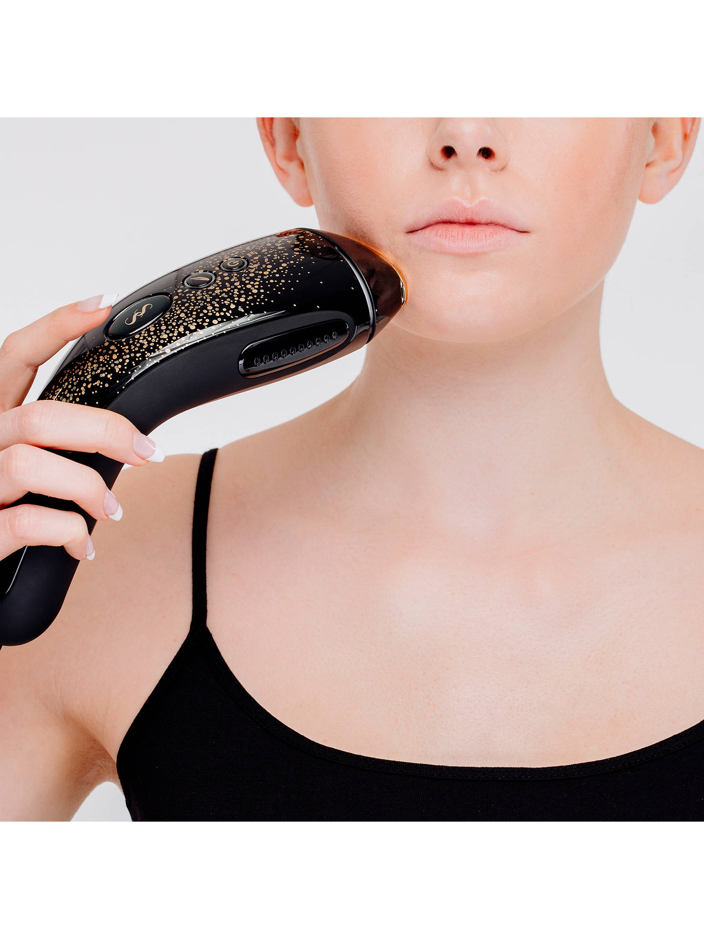 BuySmoothSkin Muse IPL Hair Removal, Black / Gold Online at johnlewis.com