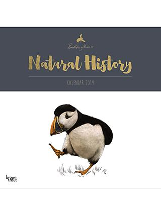 Natural History By Ben Rothery 2019 Calendar