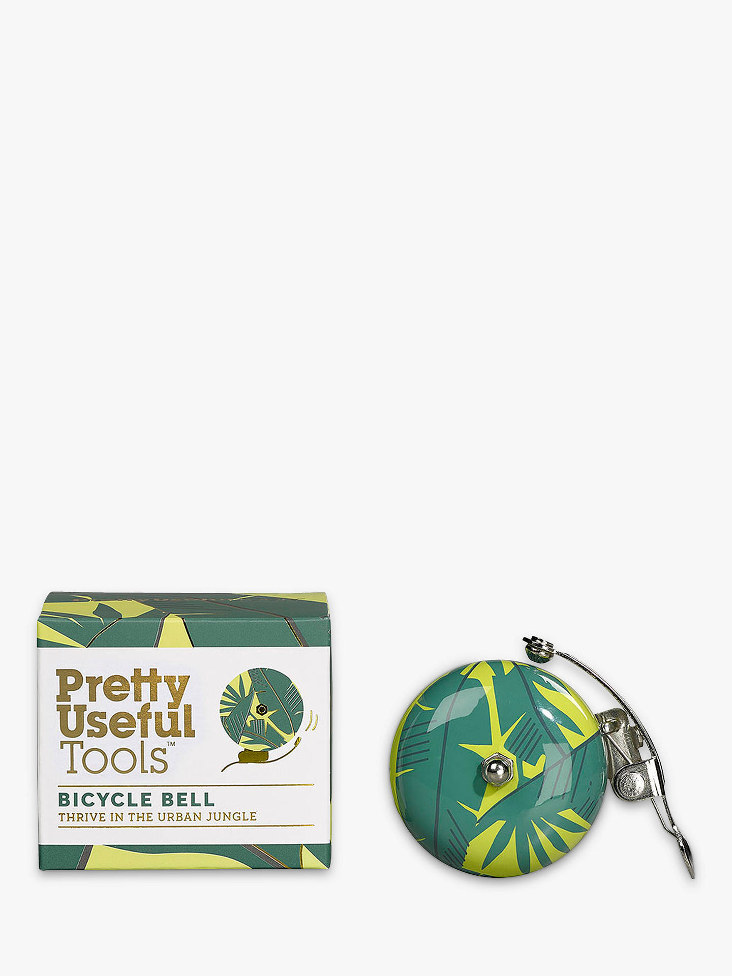 BuyPretty Useful Tools Bicycle Bell, Jungle Yellow Online at johnlewis.com