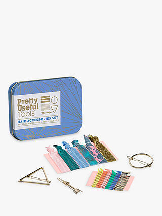 Buy Pretty Useful Tools Hair Accessories Set, Azure Blue Online at johnlewis.com