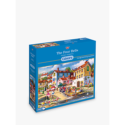 Image of Gibsons Four Bells Jigsaw Puzzle, 1000 pieces