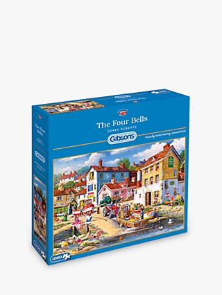 Gibsons Four Bells Jigsaw Puzzle 1000 Pieces