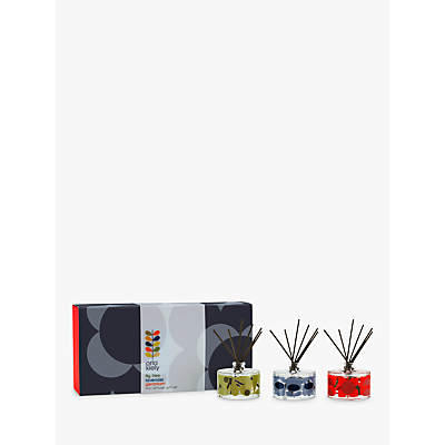 Orla Kiely Midnight Flower Diffuser Gift Set