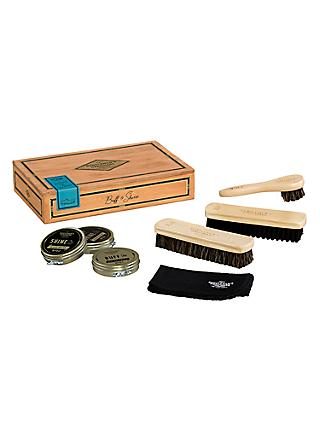 Gentlemen's Hardware Shoe Shine Box