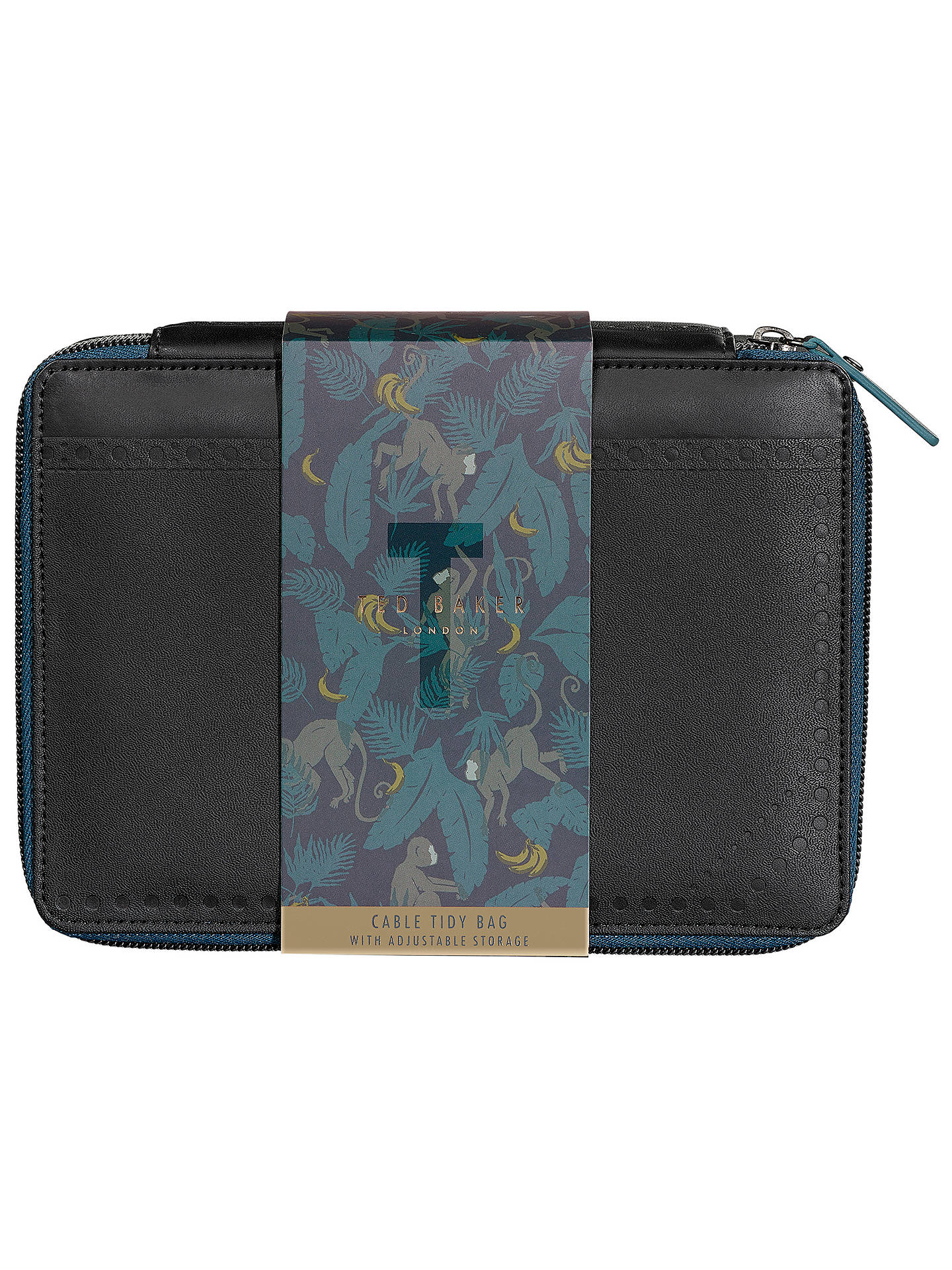 Buy Ted Baker Cable Tidy Bag, Black Online at johnlewis.com