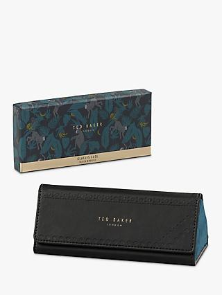 Ted Baker Glasses Case, Black Brogue