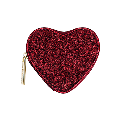Katie Loxton Heart Coin Purse, Red