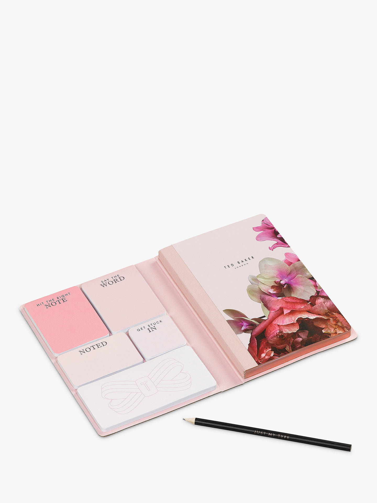 b8e1d171a8675c ... Buy Ted Baker Splendour Notebook and Sticky Notes