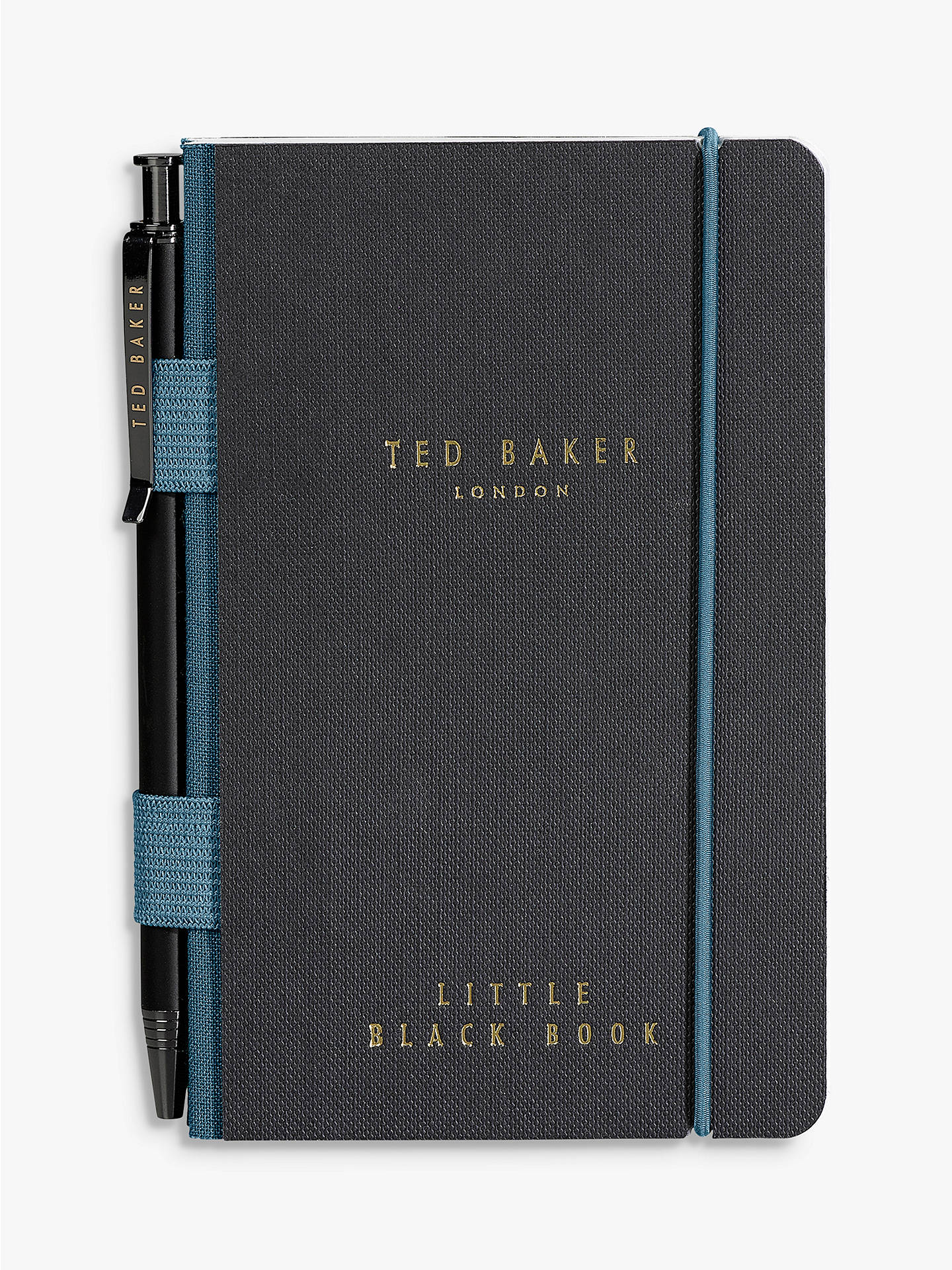 BuyTed Baker Mini Notebook and Pen Set Online at johnlewis.com