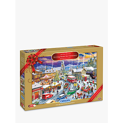 Image of Gibsons Driving Home for Christmas Jigsaw Puzzle, 1000 Piece