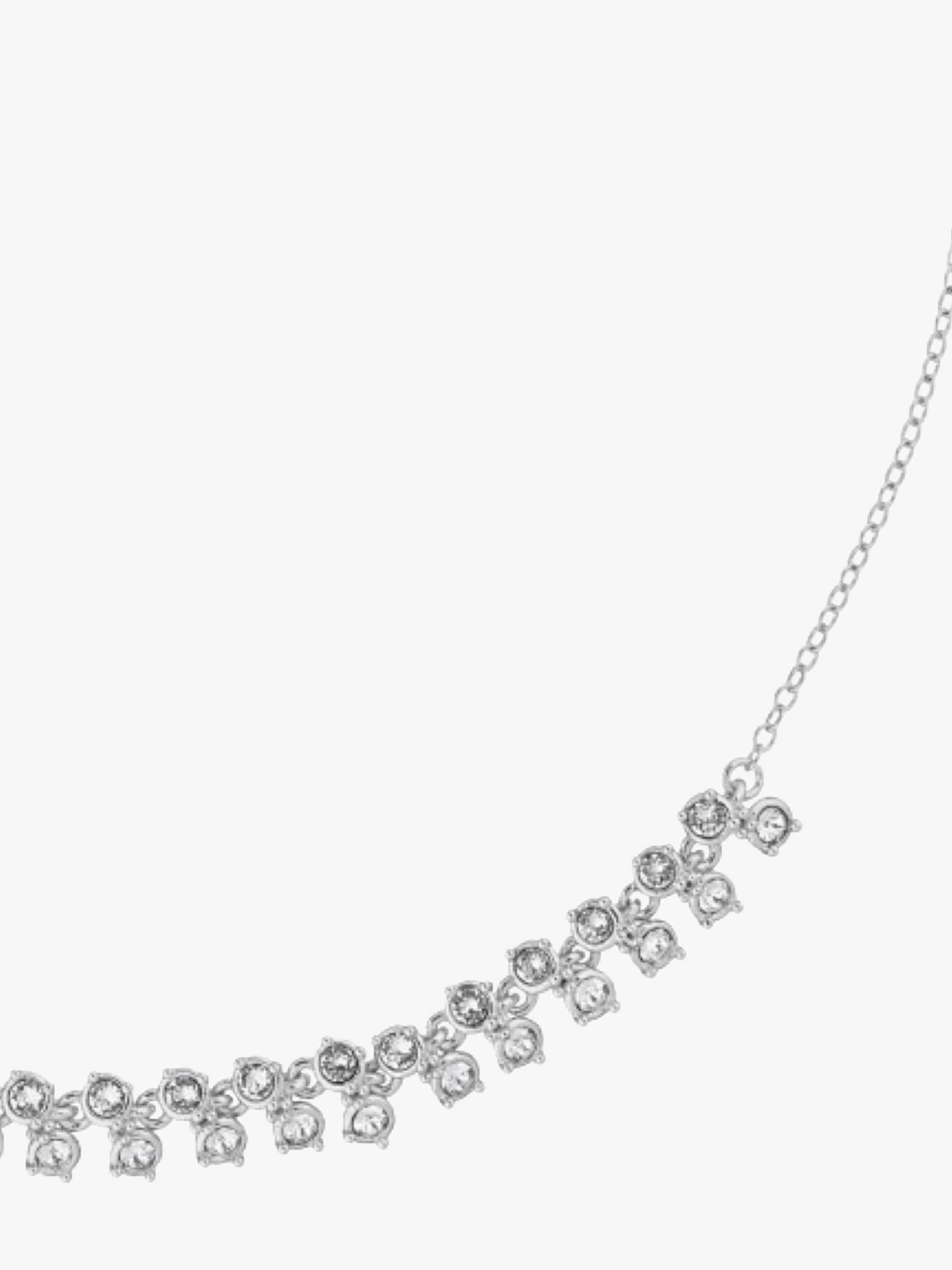 BuyTed Baker Eada Princess Sparkle Collar Necklace, Silver Online at johnlewis.com