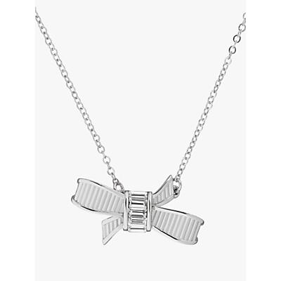 Image of            Ted Baker Dameka Ribbon Bow Pendant Necklace
