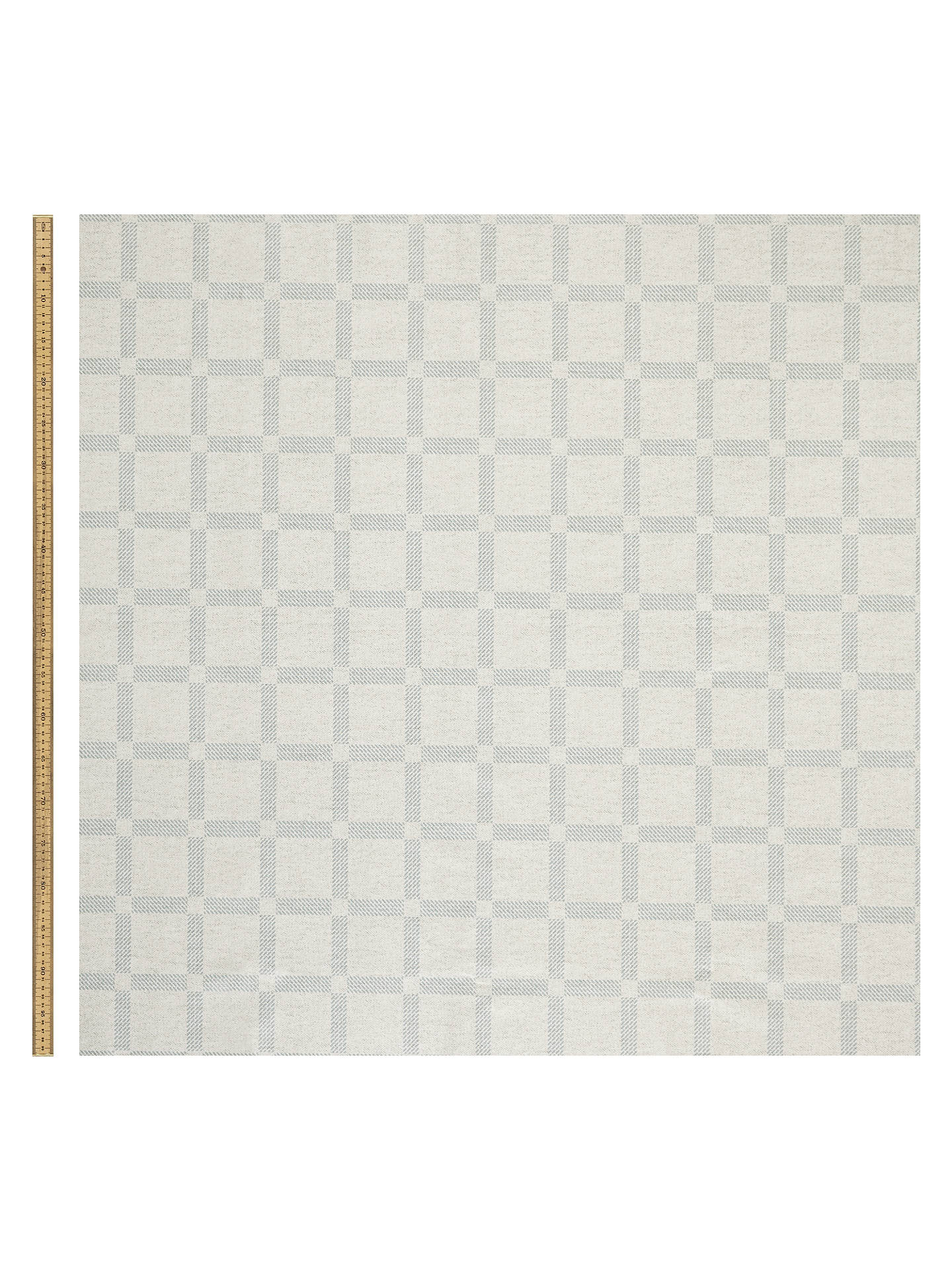 Buy John Lewis & Partners Check PVC Tablecloth Fabric, Duck Egg Online at johnlewis.com