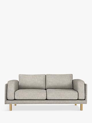 Design Project by John Lewis No.002 Large 3 Seater Sofa, Arya Blue Grey