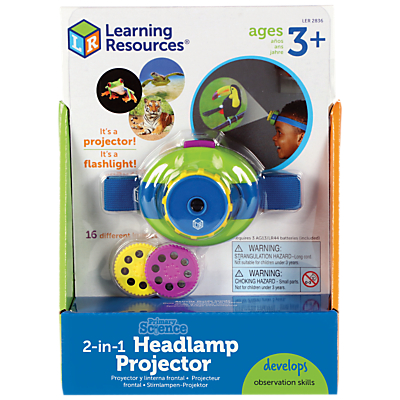 Image of Learning Resources Primary Science 2-in-1 Headlamp Projector