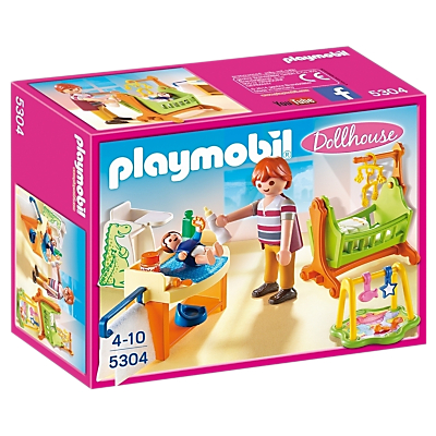 Playmobil Dollhouse 5304 Baby Room