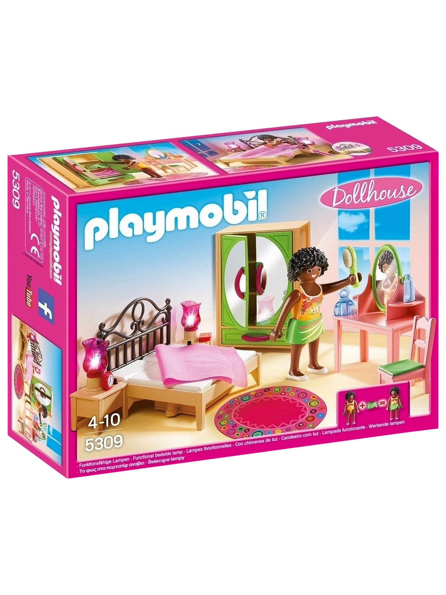 BuyPlaymobil Dollhouse 5309 Master Bedroom Online at johnlewis.com