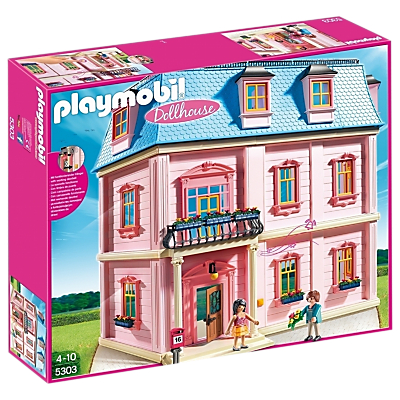 Click here for Playmobil 5303 Deluxe Dollhouse
