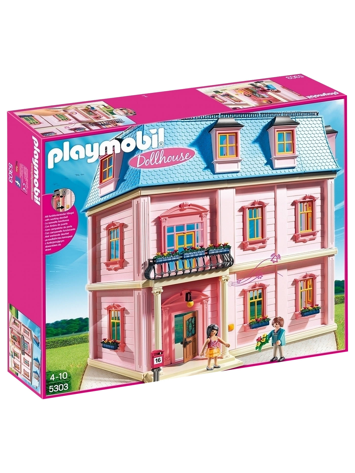 BuyPlaymobil 5303 Deluxe Dollhouse Online at johnlewis.com