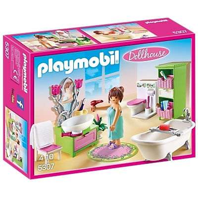 Playmobil Dollhouse 5307 Vintage Bathroom