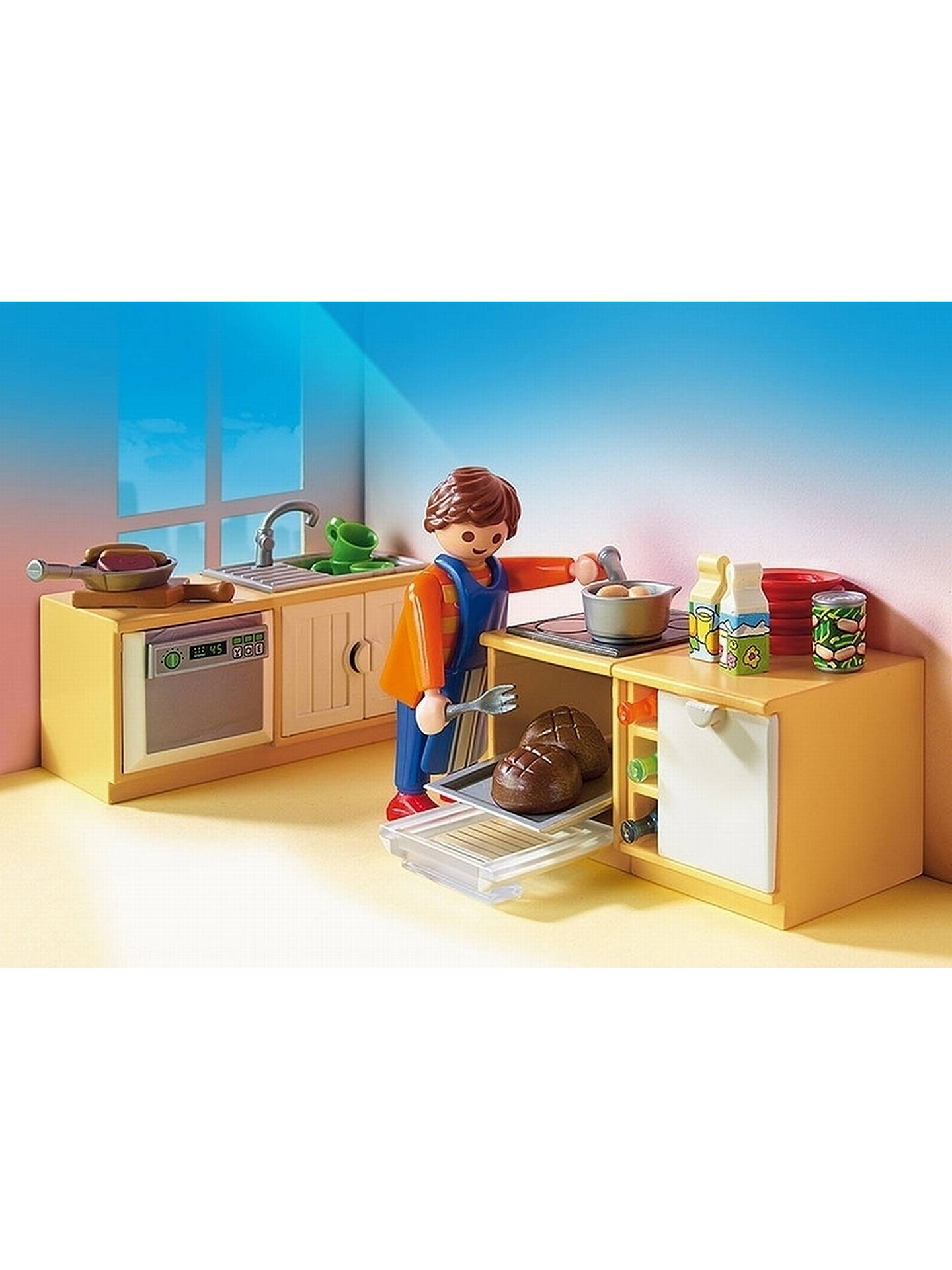 Buy Playmobil Dollhouse 5336 Country Kitchen Online at johnlewis.com