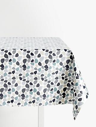 John Lewis & Partners Tia PVC Tablecloth Fabric, Grey
