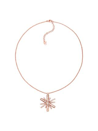 Folli Follie Cubic Zirconia Star Pendant Necklace