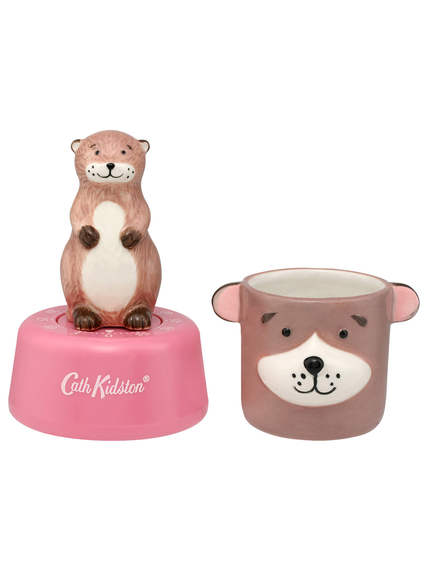 BuyCath Kidston Otter Egg Cup and Kitchen Timer Online at johnlewis.com