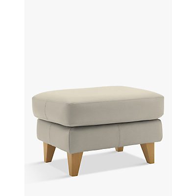G Plan Hirst Leather Footstool