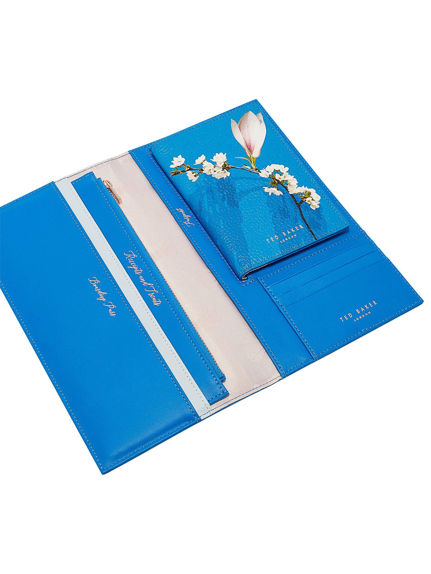996b0b4fe ... Buy Ted Baker Sharon Harmony Leather Travel Wallet   Passport Holder