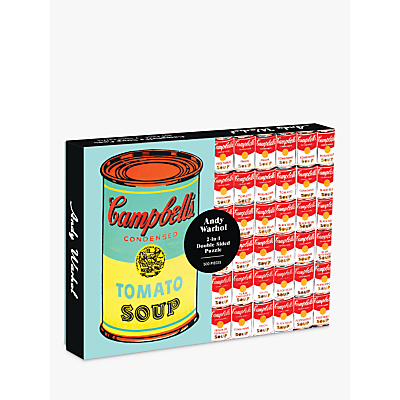 Image of Wentworth Wooden Puzzles Campbells Soup, 500 pieces