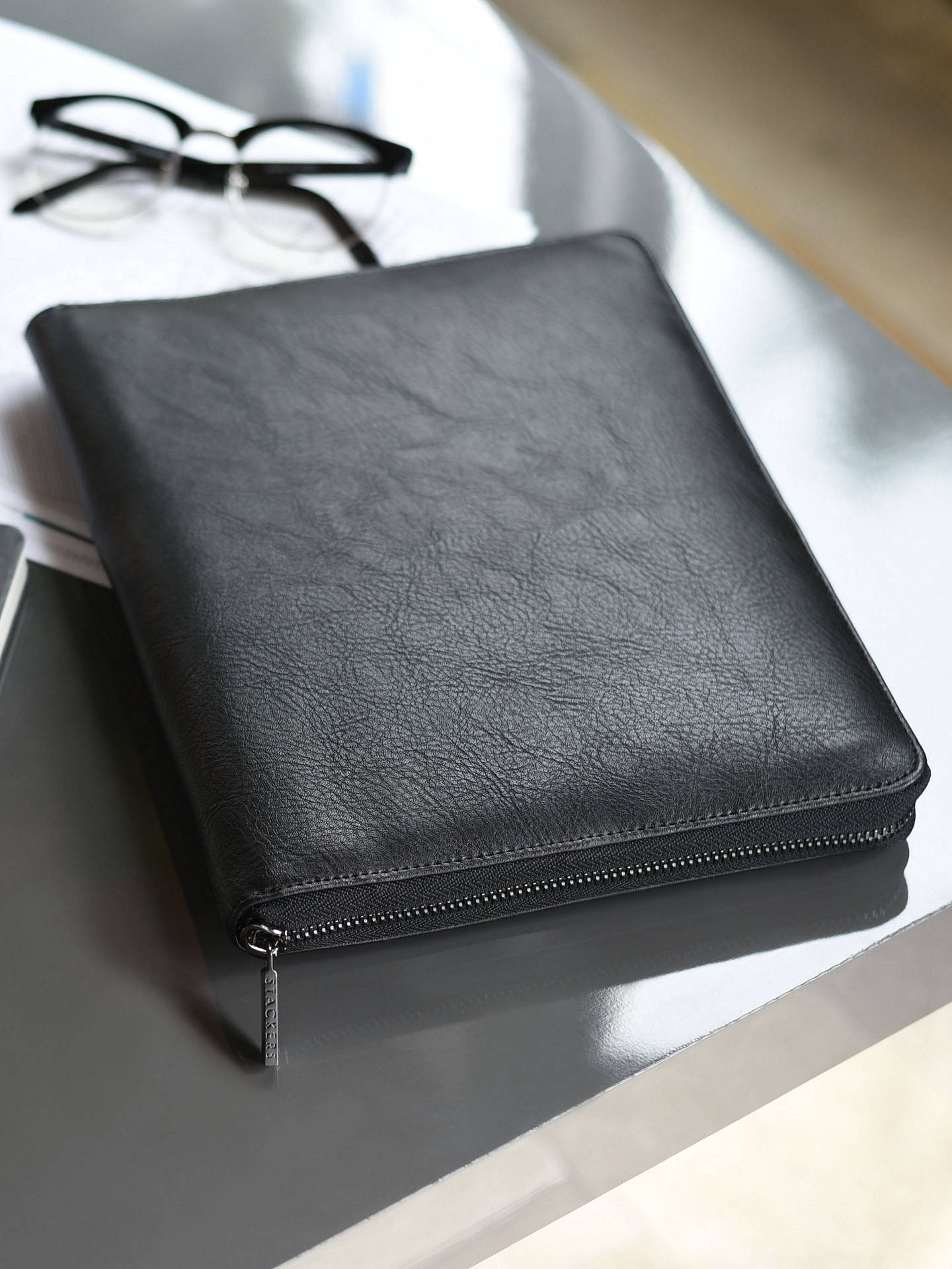Buy Stackers Tech Portfolio, Black Online at johnlewis.com