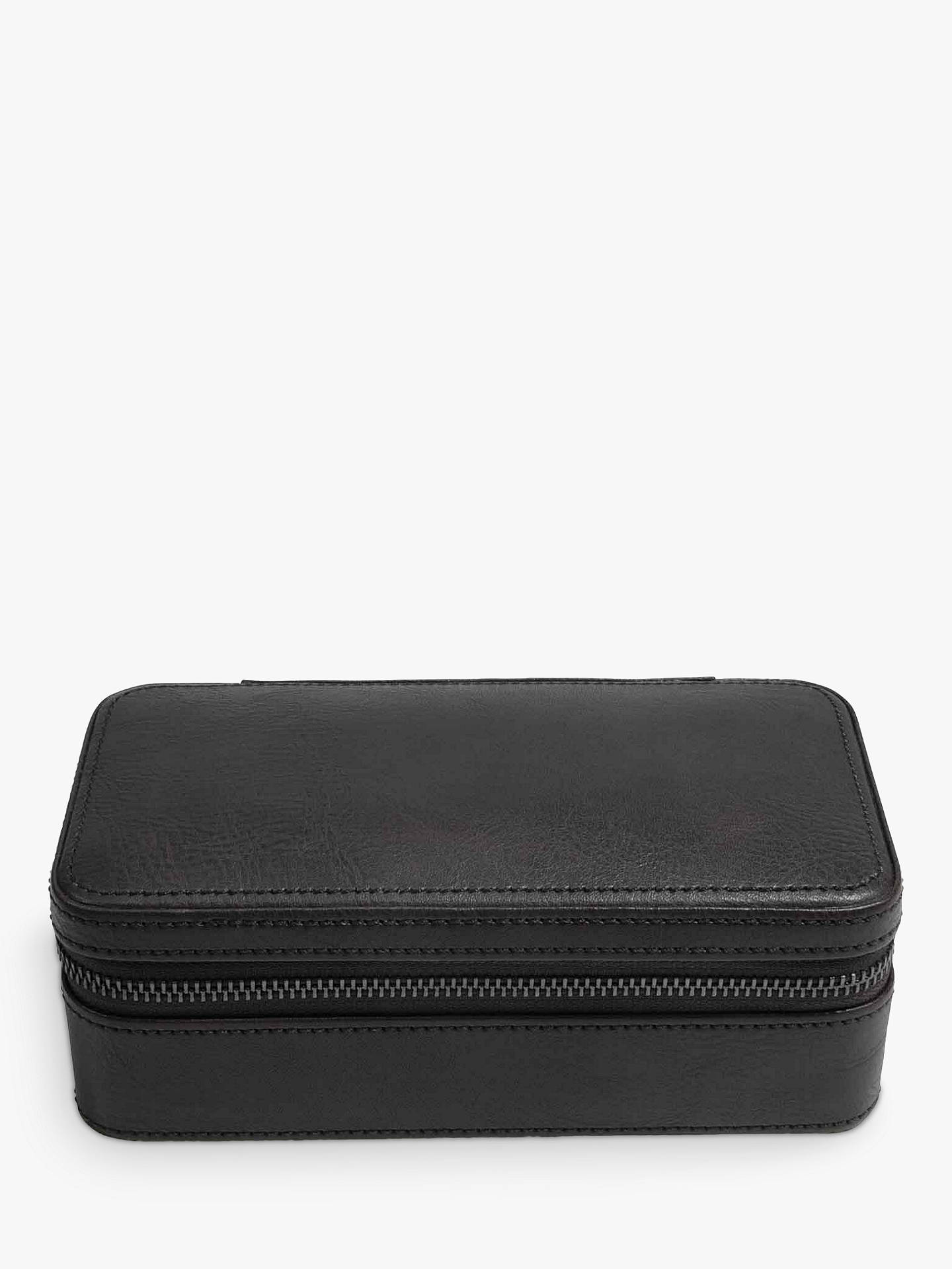 Buy Stackers Double Watch Box, Black Online at johnlewis.com
