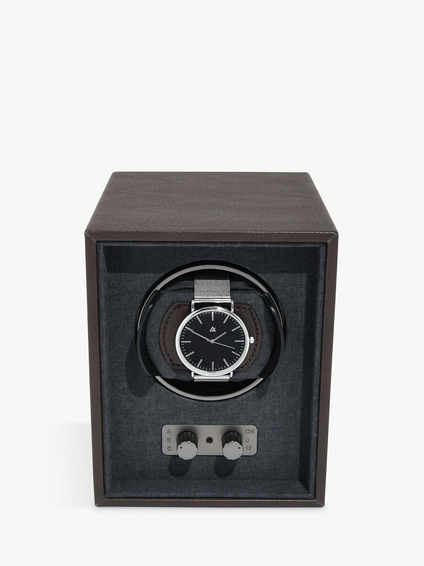 Buy Stackers Watch Winder, Brown Online at johnlewis.com