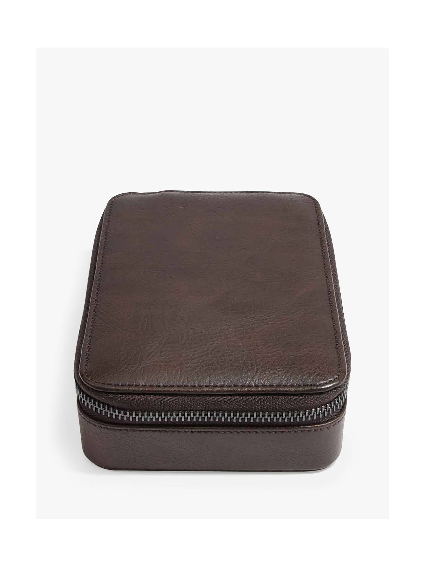 Buy Stackers Watch & Cufflink Box, Brown Online at johnlewis.com