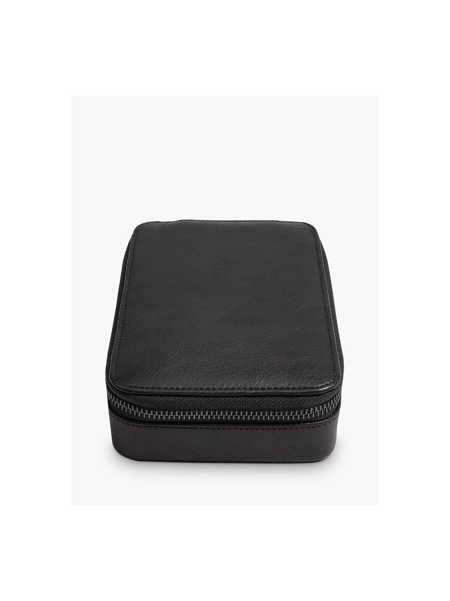 Buy Stackers Watch & Cuff Case, Black Online at johnlewis.com