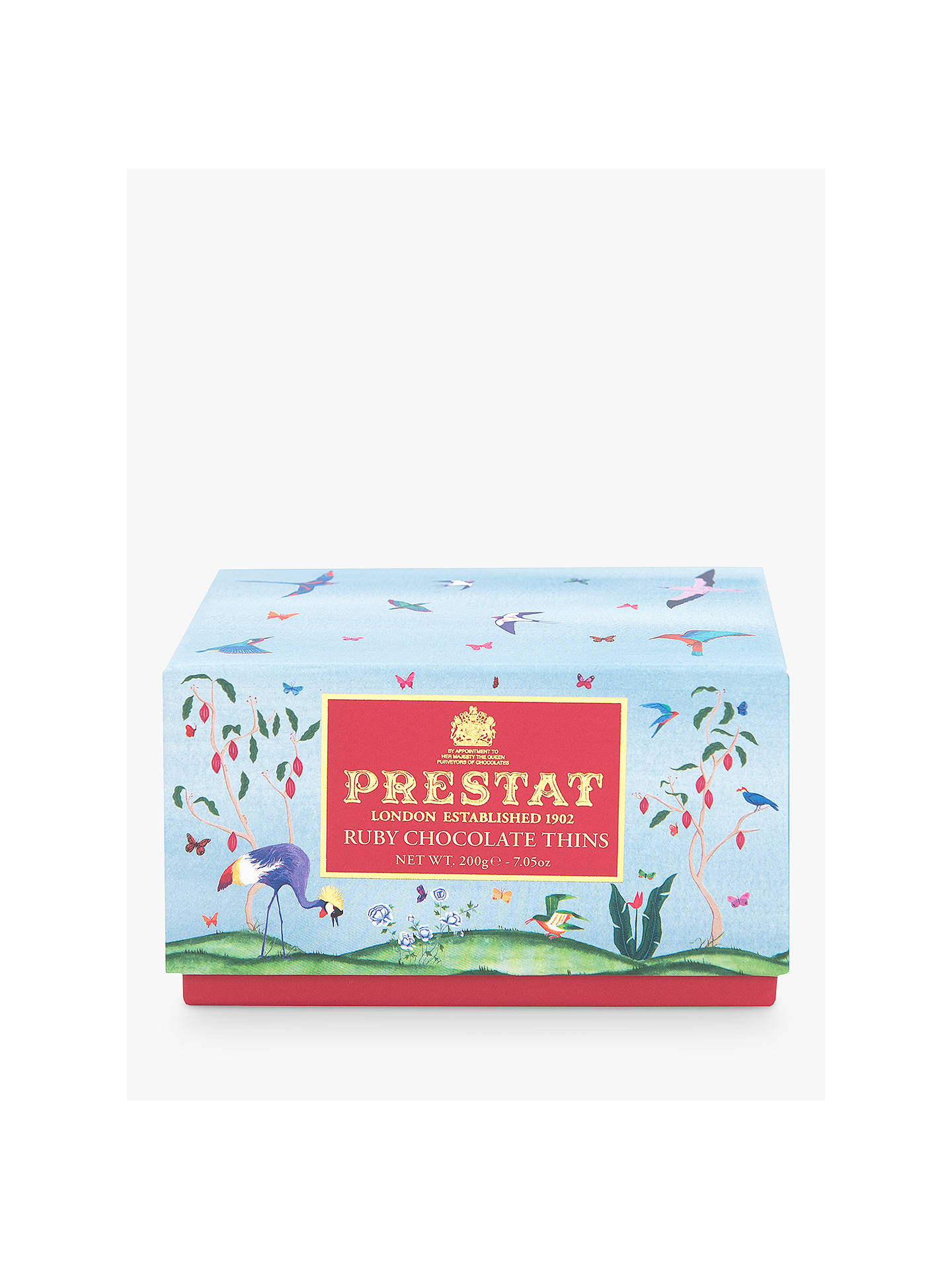 Prestat Ruby Chocolate Thins 200g At John Lewis Partners