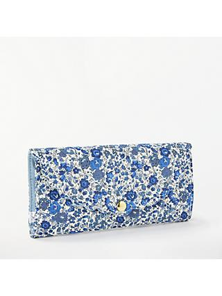 Liberty Floral Print Sewing Roll Kit, Blue