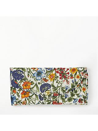 Liberty Rachel Floral Print Sewing Roll Kit, Blue