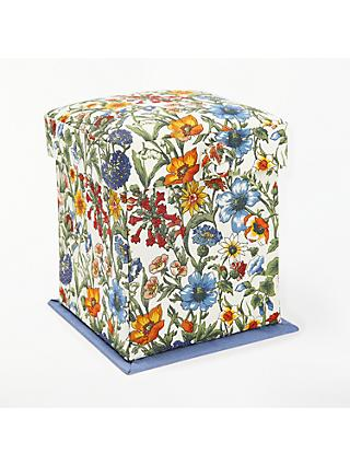 Liberty Rachel Floral Print Victorian Sewing Box, Blue