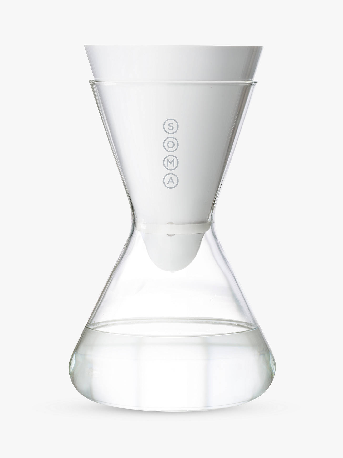 Soma 6-Cup Water Filter Glass Carafe