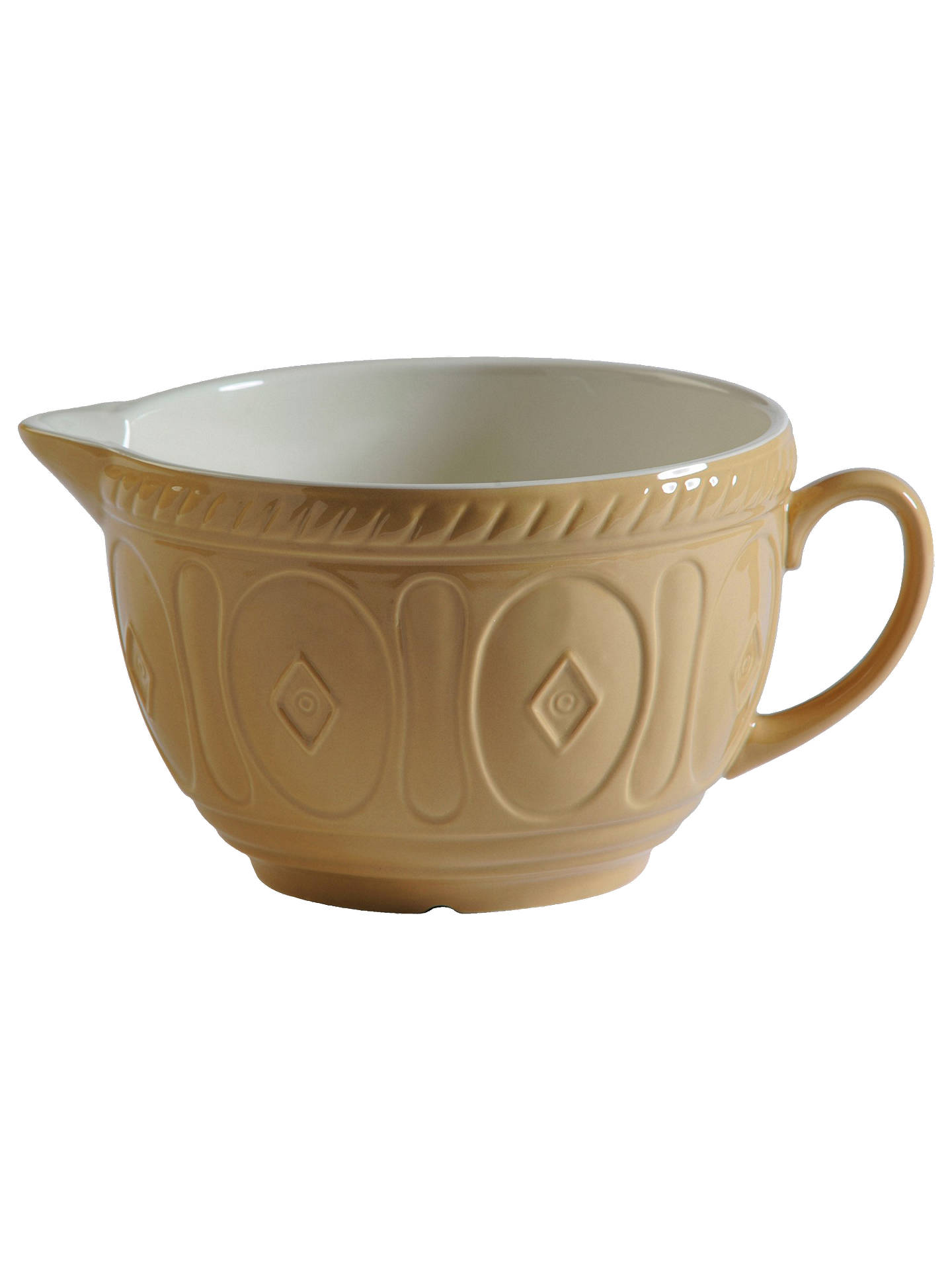 Buy Mason Cash Ceramic Original Batter Mixing Jug, 2L, Beige Online at johnlewis.com
