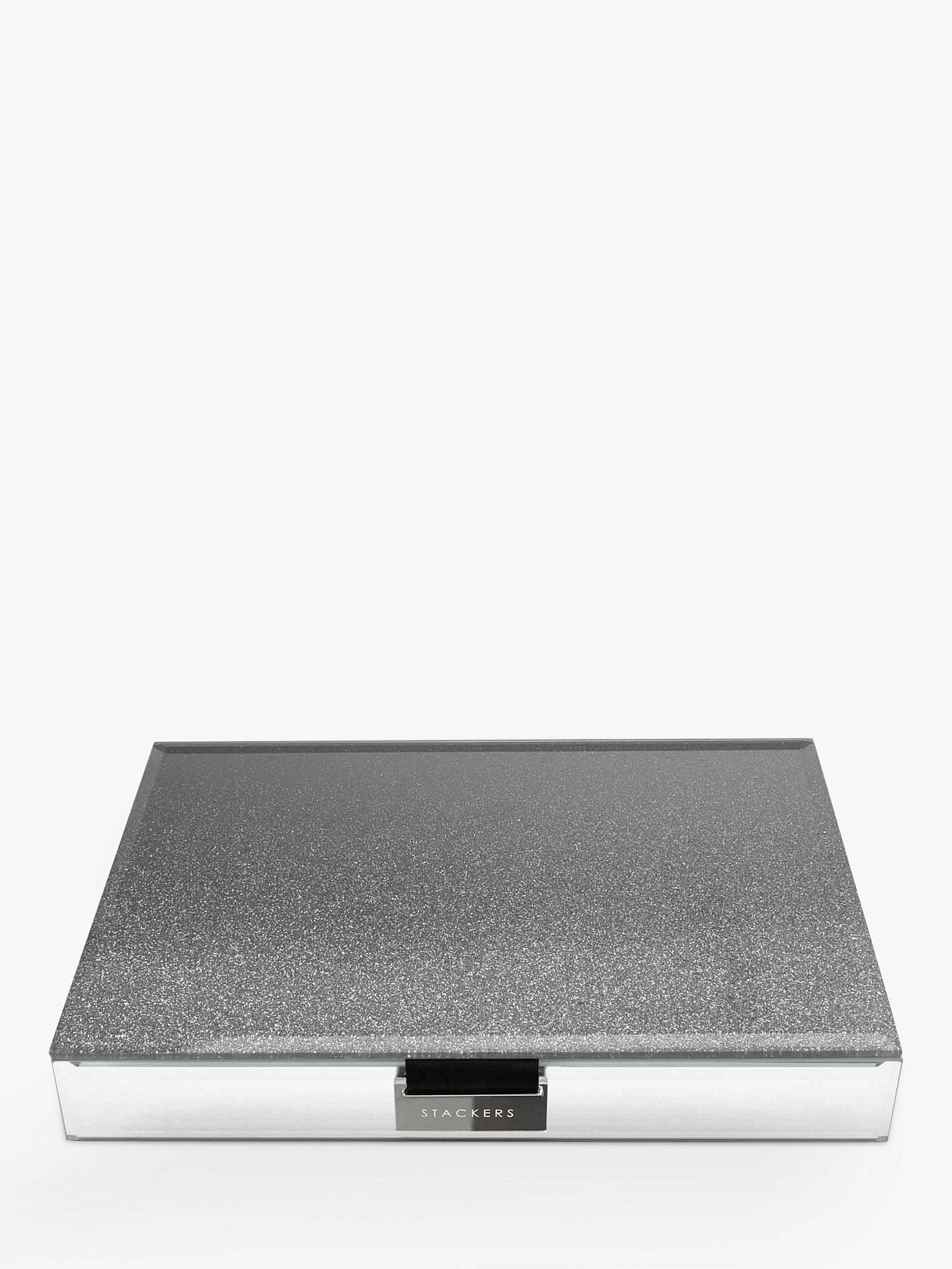 BuyStackers Glass Ombre Box, Dark Grey Online at johnlewis.com