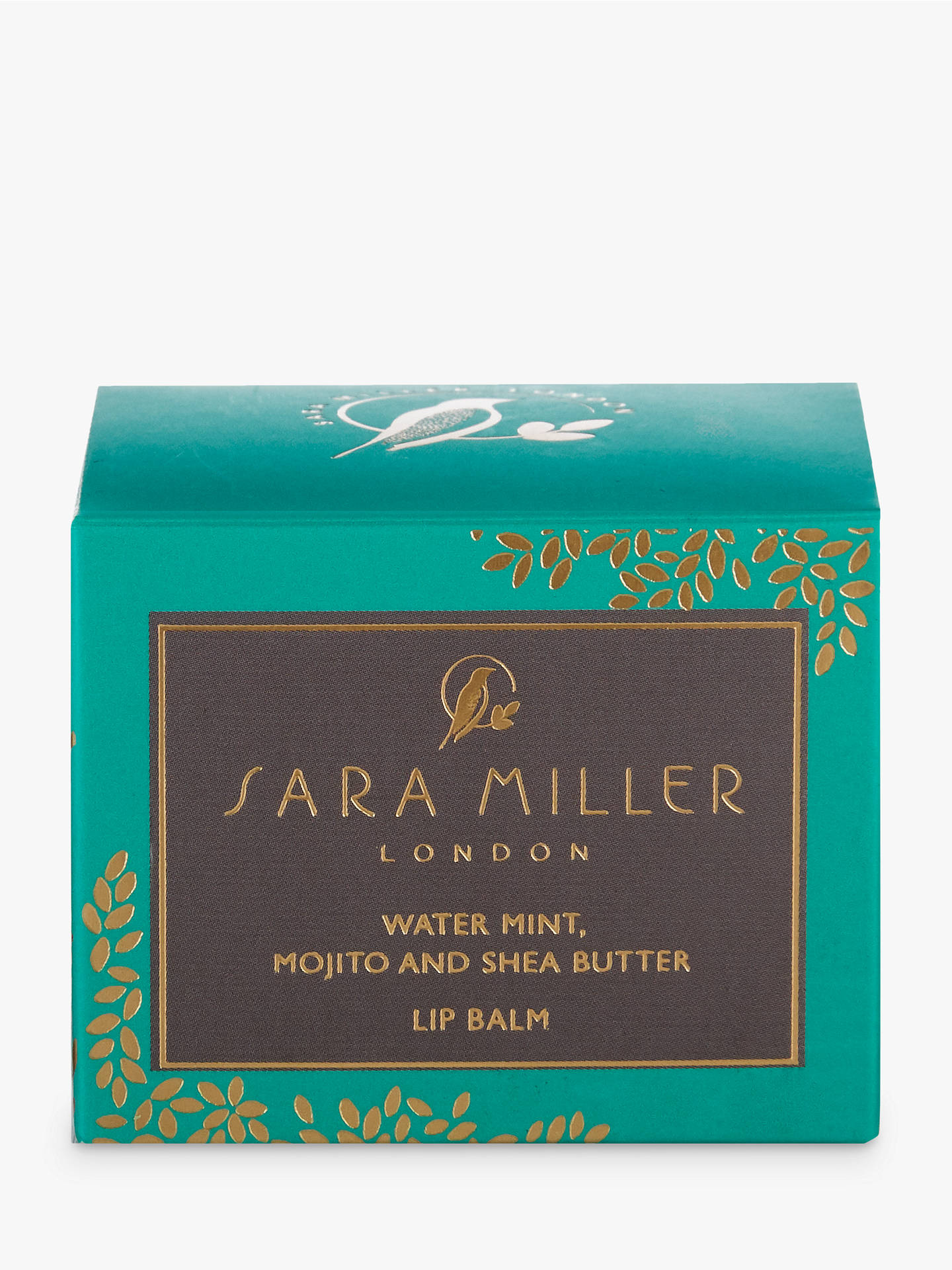 BuySara Miller Lip Balm, Green Online at johnlewis.com